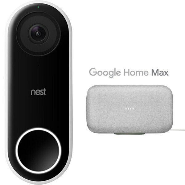 Google Nest Hello Smart Wi-Fi HD Video Doorbell - NC5100US