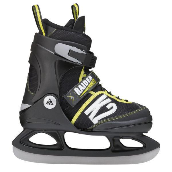 Eishockey Schlittschuhe 38 39 40 41 42 43 NEU Semi-Soft Boots gefüttert mit  Schonern Silber schwarz: Amazon.de: Sport & Freizeit