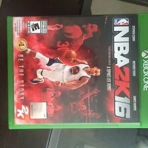 NBA 2k16, great condition