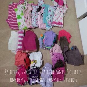 Infant girls clothing 6-12 months