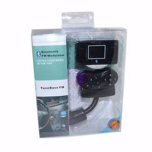 Bluetooth Car Kit  MP3 Player FM Transmitter Steering Wheel remot Blacktown Blacktown Area Preview