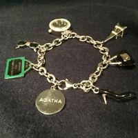 Bracelet neuf avec charms en argent- Agatha Paris