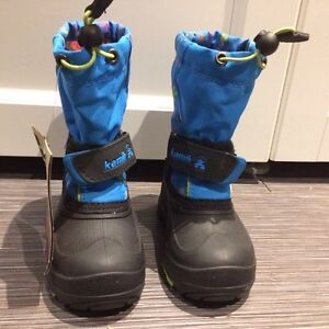 Toddler Kamik boots, New with tags, size 8 London Ontario image 2