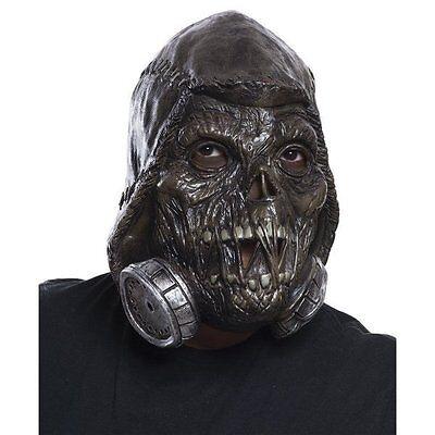 Batman Arkham Scarecrow 3/4 Adult Mask Costume Licensed Vinyl DC Comics