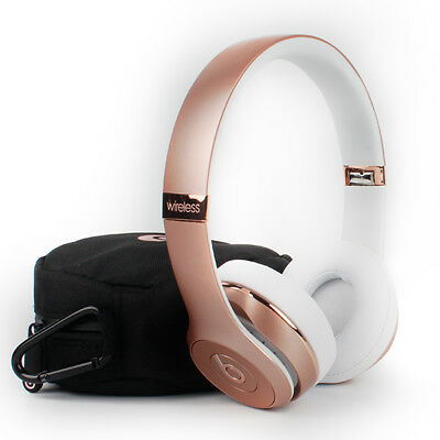 Headphones - BEATS BY DR DRE SOLO HD 3.0 WIRELESS BLUETOOTH HEADPHONE ROSE GOLD