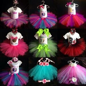 Birthday tutu sets, custom shirts and dresses