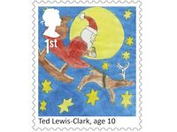 25 x 1st Class Christmas Edition Stamps
