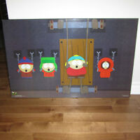 South Park Poster on Wooden Backing 2