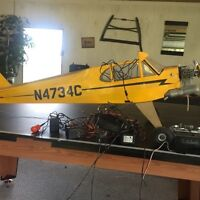 J3 piper cub Rc plane with os motor