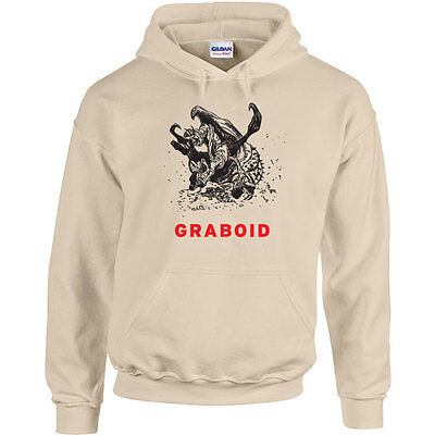 247 Graboid Hoodie 80s movie scary tremors funny cool horror halloween - Halloween Movie Hoodie