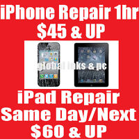 Phone Repair Under 1HR iPhone 4 $45 - iPhone 5 $60 - 5s/5c $70