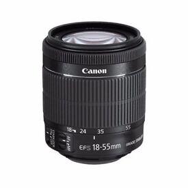 Canon EF-S 18-55mm F/3.5-5.6 STM EF IS Lens