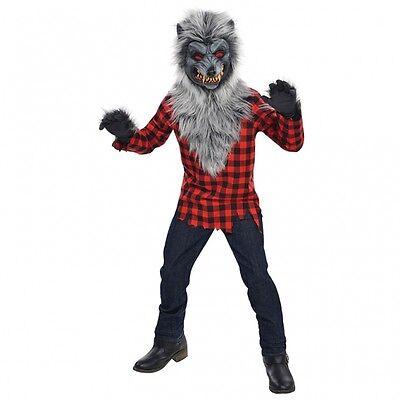 Werwolf HAMMER Kostüm Gr. 170 Fasching Kinder Jungen Karneval Halloween Wolf (Halloween-kostüme, Werwolf, Kinder)