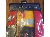 Brand new crewsaver lifejacket