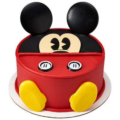 Mickey Mouse Disney Face Feet cake decoration Decoset cake topper set - Cake Decorating Mickey Mouse