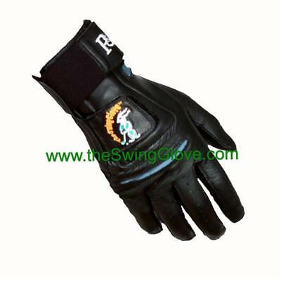 Golf Glove Training Aid (Dynamics Circle Men's Black Swing Glove  Golf Training)