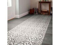 British Ceramic Tile - Devonstone Feature White/Grey