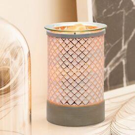 Scentsy Cream Diamond Warmer