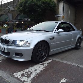 Bmw m3 convertible smg with hard top