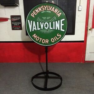 1930's Pennsylvania valvoline motor oil  sign