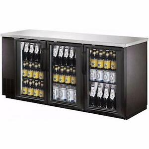 FRIGO A BIERE NEUF / NEW BACK BAR BEER FRIDGE