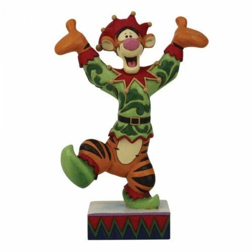 Disney Traditions Ecstatic Elf - Tigger Christmas Elf Figurine