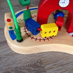 Quality Wood and Metal Traffic Bean Maze Toy London Ontario image 3
