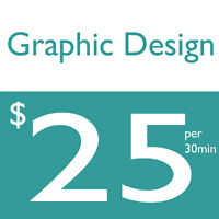 Awesome Graphic Designer for just $25 per half hour!