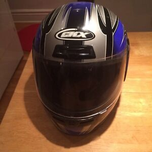 Casque de moto scooter full face grandeur large à vendre