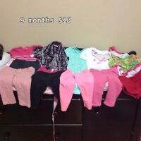 9 months clothing