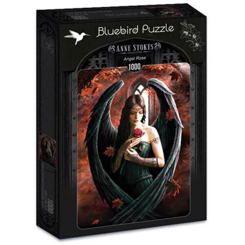 Bluebird 1000 Piece Jigsaw Puzzle - Anne Stokes: Angel Rose