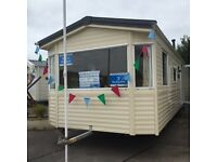 Static caravan for sale ocean edge holiday park Lancaster Morecambe 12 month season