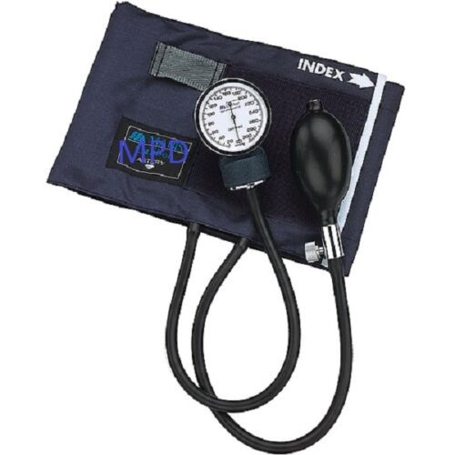 New Adult Manual Blood Pressure Bp Cuff Kit W/case Aneroid Sphygmomanometer Unit
