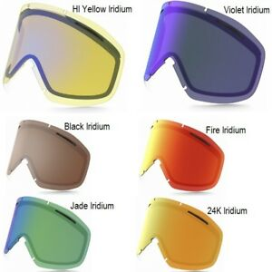 Oakley O2XM Googles - Jade Iridium lenses