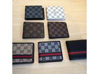 Louis Vuitton, Gucci wallets best price