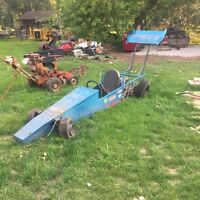 Drag go cart one of a kind