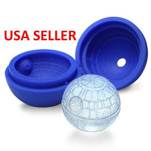 Death star ice mold