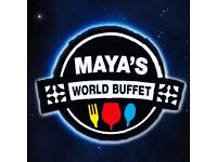 Experienced or inexperienced part time or full time waiting staff for Maya's Restaurant in Southend