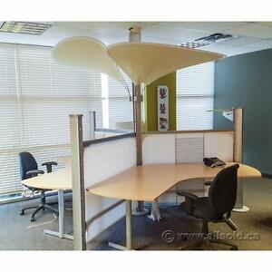 Assortment of Brand Name Systems Furniture Cubicle Workstation Options