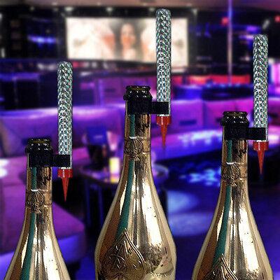 Bottle Sparklers (VIP CHAMPAGNE BOTTLE SERVICE SPARKLERS CLIP SAFETY HOLDER SINGLE BOTTLE CLIPS)