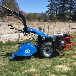 BCS 2 wheels tractor with tiller attachment