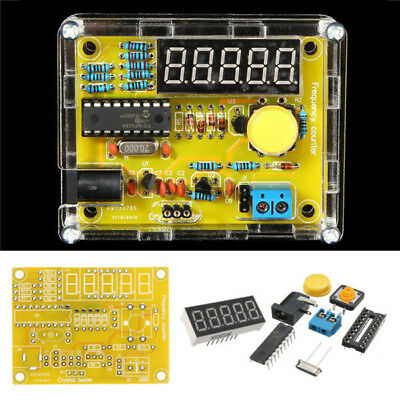 1hz-50mhz Crystal Oscillator Frequency Counter Tester Digital Diy Meter Kit Tool
