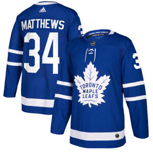 AUSTON MATTHEWS #34 TORONTO MAPLE LEAFS JERSEY