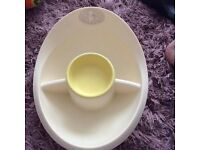 Winnie The Pooh Bath and Matching Top and Tail Bowl