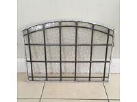 Original leaded Glass for door x3
