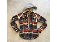 Women's Superdry Checked Jacket Size Large