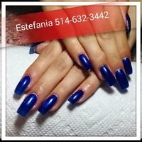 POSE D'ONGLES RESINE,ACRYLIC,GEL, SHELLAC,PEDICURE ECT