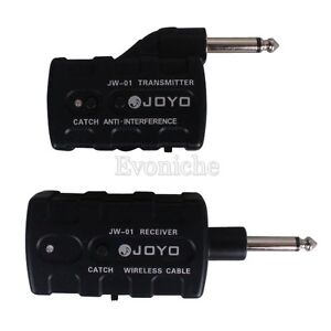 Joyo JW01 Digital Wireless Guitar Bass 2.4G Audio Transmitter Receiver System