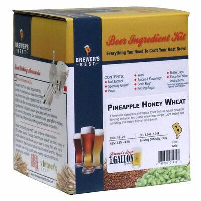 Brewer's Best Pineapple Honey Wheat Beer Ingredient Kit - 1