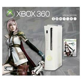 Xbox 360 elite, Final Fantasy XIII limited edition - near perfect condition